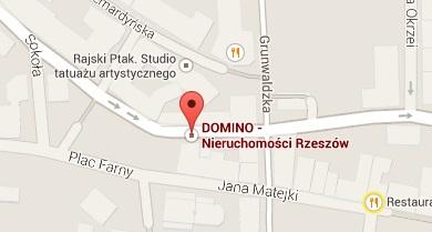 Mapka Nieruchomości DOMINO Rzeszów